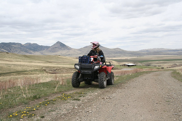 Staying On Trails Atv Riding Tips Atv Safety Institute