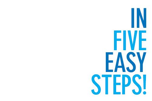 5 easy steps